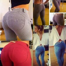 Sexy Women Skinny Jeggings Stretchy Pants Leggings Jeans Pencil Tight Trousers B