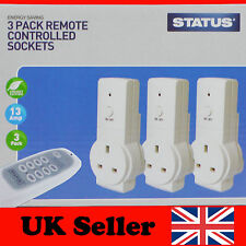 Remote Control Sockets Wireless Switch Home Mains UK Plug AC Power Outlet