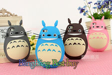 New Silicone Soft 3D Cartoon Case My Neighbor Totoro Back Cover For iphone 6 5S