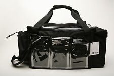 """EYE LINE"" NWT PROFESSIONAL ARTIST ON SET/TV MAKEUP BAG  TWO SIZES BLACK or RED"