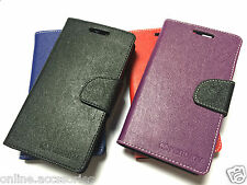 Mercury Wallet Diary Flip Cover Case For Micromax A120 Canvas 2 Colors