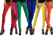 Womens Stretch Candy Pencil Pants Casual Slim Fit Skinny Jeans Trousers S-3XL