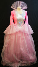 Fairy Godmother-Panto Fairy-PINK GOOD WITCH Fancy Dress Outfit Sizes 8 - PLUS 42