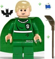 LEGO HARRY POTTER - QUIDDITCH DRACO FIGURE + FREE EXTRA'S - BESTPRICE - NEW