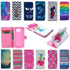 Card Pocket Flip Wallet Leather Case Cover Stand For Samsung Galaxy Phone S5 S6