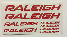 Raleigh BMX, bike, bicycle, vinyl decals/stickers, 3 sizes ALL COLOURS