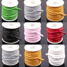 Hotsale 1/5M Hi-Q Exquisite Sewing Rope Leather Cord Necklace Bracelet DIY 6mm
