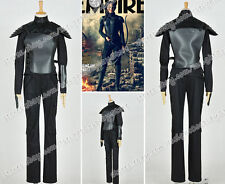The Hunger Games Mockingjay Cosplay Katniss Everdeen Costume Black Whole Outfit
