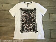 JUST CAVALLI Mens T-Shirt Short Sleeve New Collection S01GC0256 - New With Tags