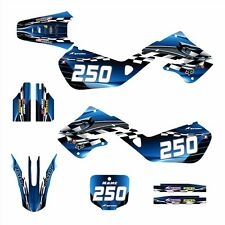 1997 1998 1999 CR125 CR250 Graphics for Honda CR 125R 250R Decals #2500 Blue