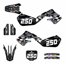 1997 1998 1999 CR125 CR250 Graphics for Honda CR 125R 250R Decals #2600 Blue