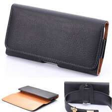 PU Leather Holster Belt Clip Carrying Case Pouch For iPhone Lenovo Xiaomi Gionee