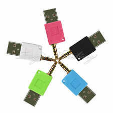 """New 3.5mm 1/8"""" to USB Charger Adapter  for Apple iPod Shuffle 2nd. Generation"""