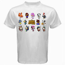 Animal Crossing classic retro nintendo Tshirt White Basic Tee