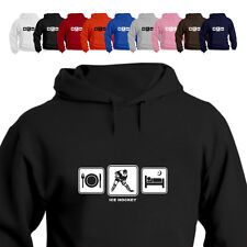 Ice Hockey Stick Pads Gift Hoodie Hooded Top Daily Cycle