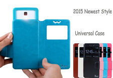 Cell Phone Universal Case PU Leather Flip Cover Case For BLU Mobile Phones