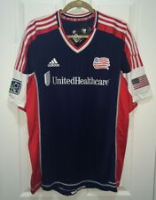 ADIDAS New England Revolution Authentic 2012 Home S/S Soccer Jersey NEW Mens XL