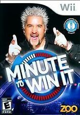 Minute to Win It (Nintendo Wii, 2010) COMPLETE