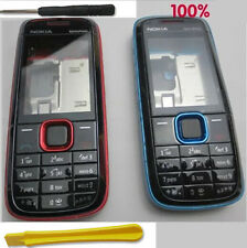 Red Blue Fascia Housing Cover for Nokia 5130 XpressMusic XM Faceplate Case Keyp