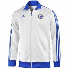 CHELSEA - WHITE TRACK TOP JACKET - ADIDAS - BNWT - FREE SHIPPING