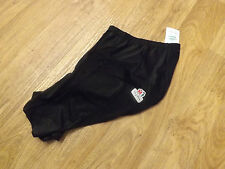 NOS ULTIMA Skin Shorts - Waist fit - Black with padded insert - size 2 / small