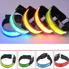 BICYCLE MOUNTAIN BIKE Running Cycling LED Flashing Adjustable Reflective Armband