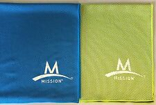 2-PACK ~ Mission Athletecare Enduracool Instant Cooling MESH Towel ~ XL