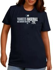 New York Yankees MLB Authentic Collection On Field Women's Shirt Plus Sizes