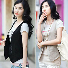 2015 New Women's Double-breasted Waistcoat Fashion Ladies Vest Waistcoat Tops