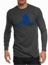 Buffalo SUNY Bulls Mens Long Sleeve Thermal Shirt State Design