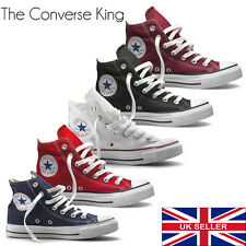 Unisex Converse All Star Chuck Taylor Ox Trainers High Top Shoes Womens All Size