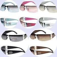 New DG Sunglasses Men Women Rectangular Designer Shades Eyewear Color Retro