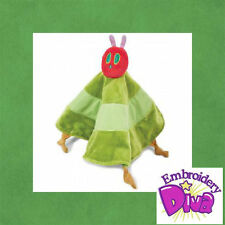 """PERSONALISED :HUNGRY CATERPILLAR""""BABY BLANKET"""