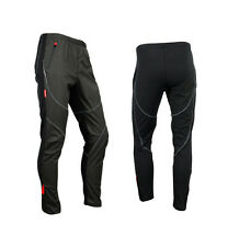 New Men's Winter Bicycle Cycling Windproof Fleece Thermal Bike Long Pants S-XXXL