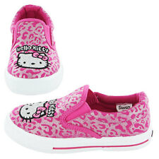 Girls Hello Kitty Slip on canvas pump Ulysses