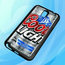 Cheap Coors light beer cool For Samsung Galaxy Note 2, 3, 4