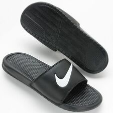 New Men's Nike Benassi Swoosh Slide Sandals Summer New Box from US Size 4 to 18