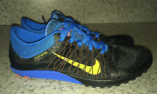 New Mens 8.5 9.5 NIKE Zoom Victory Waffle 3 Black Cross Country Spikeless Shoes