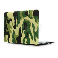 """Woodland Camouflage Hard PC Case Cover For Macbook Air 13.3"""" 11.6"""" Pro & Retina"""