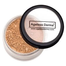 Ageless Derma Loose Mineral Foundation With Vitamins and Green Tea Extracts