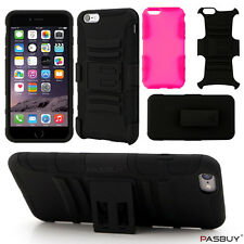 Belt Clip Combo Kickstand Fit Dual Protection Holster Case for iPhone 6 & 6Plus