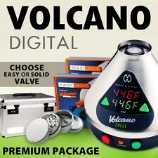 NEW Volcano Digit w/Easy or Solid Valve + FREE CARRYING CASE + Grinder