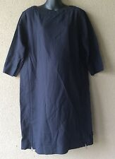 "MATERNITY ""GAP"" Navy Blue Quilted Zipper Dress NWT Size XS S M L"