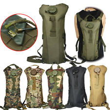 3L Climbing Hiking Hydration Pack Survival Water Bag Pouch Backpack Bladder Hot