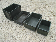 British Army Plastic Heavy Duty Storage Boxes VARIOUS SIZES Garage Land Rover