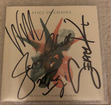 AUTOGRAPHED ALICE IN CHAINS THE DEVIL PUT DINOSAUS HERE CD SIGNED