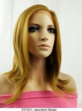 """20"""" Recurlable Human Hair Mix Blend Lace Front Wig (Katy)"""