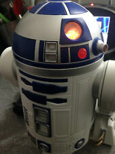 R2D2 HOME TELEPHONE, CORDED NOVELTY WITH LIGHTS AND MOVEMENT - COLLECTABLE