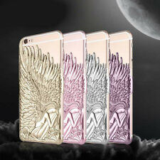 Angel Wings Carved Embossed Artwork Hard Case Cover Skin for Iphone 6 / 6S Plus