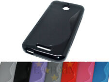 Multi Color S-Types TPU Gel CASE Cover For HTC Desire 510 A11